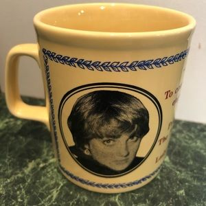 Prince Charles, Lady Diana commemorative 1981 cup